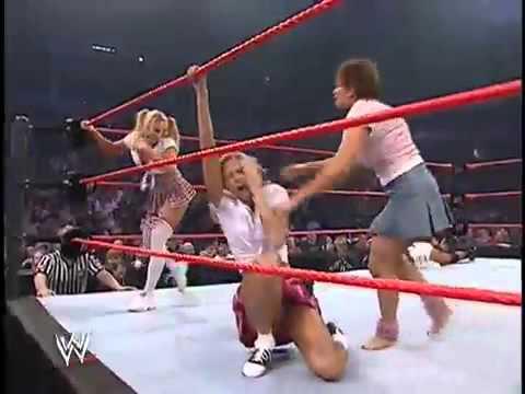 Diva Slip WWE Wardrobe Malfunction